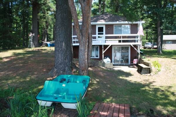 Waterfront Cottage rental -- Chain of Lakes Waupaca ...