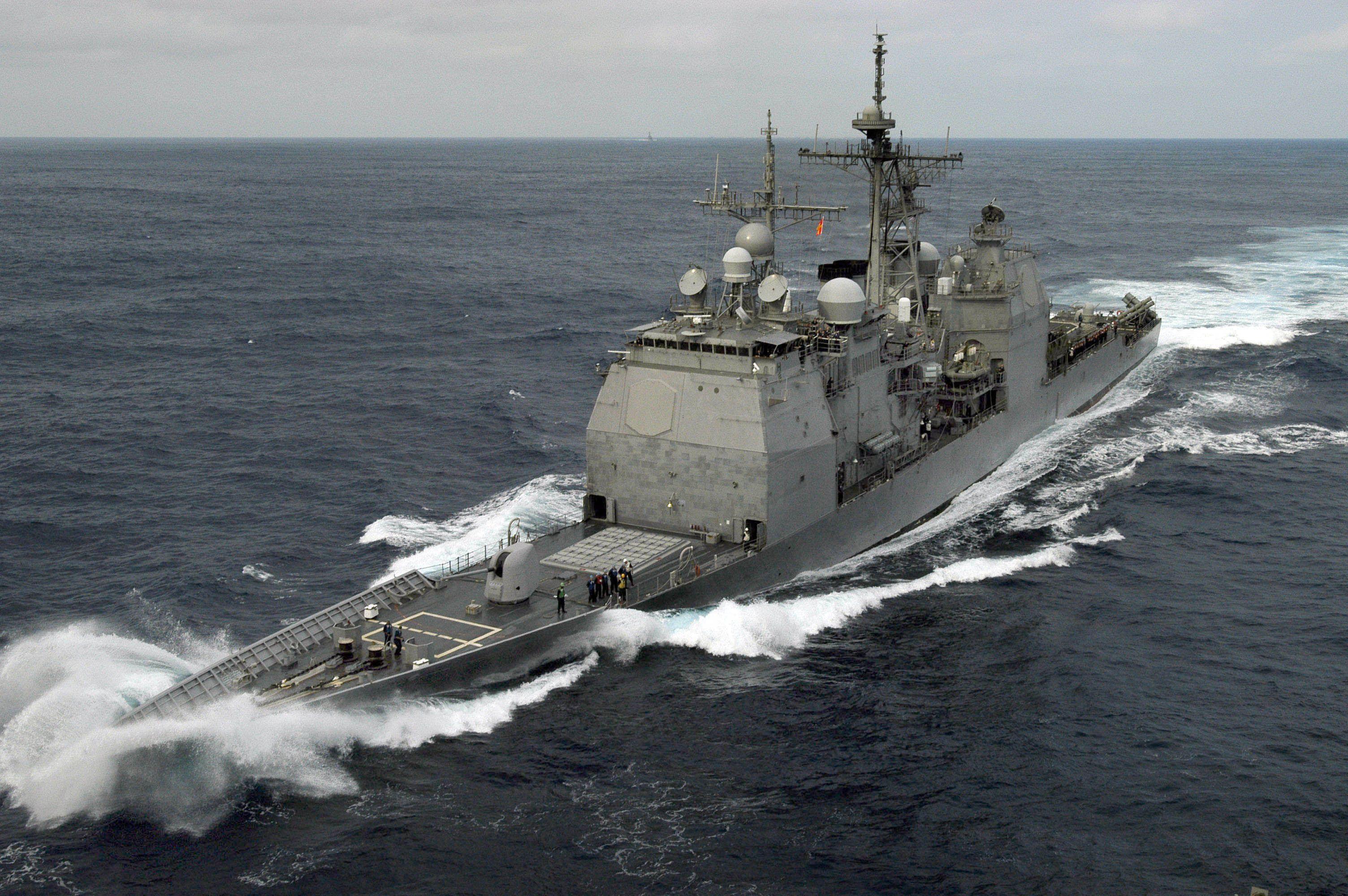 Military Ticonderoga class, Navy ships, Military