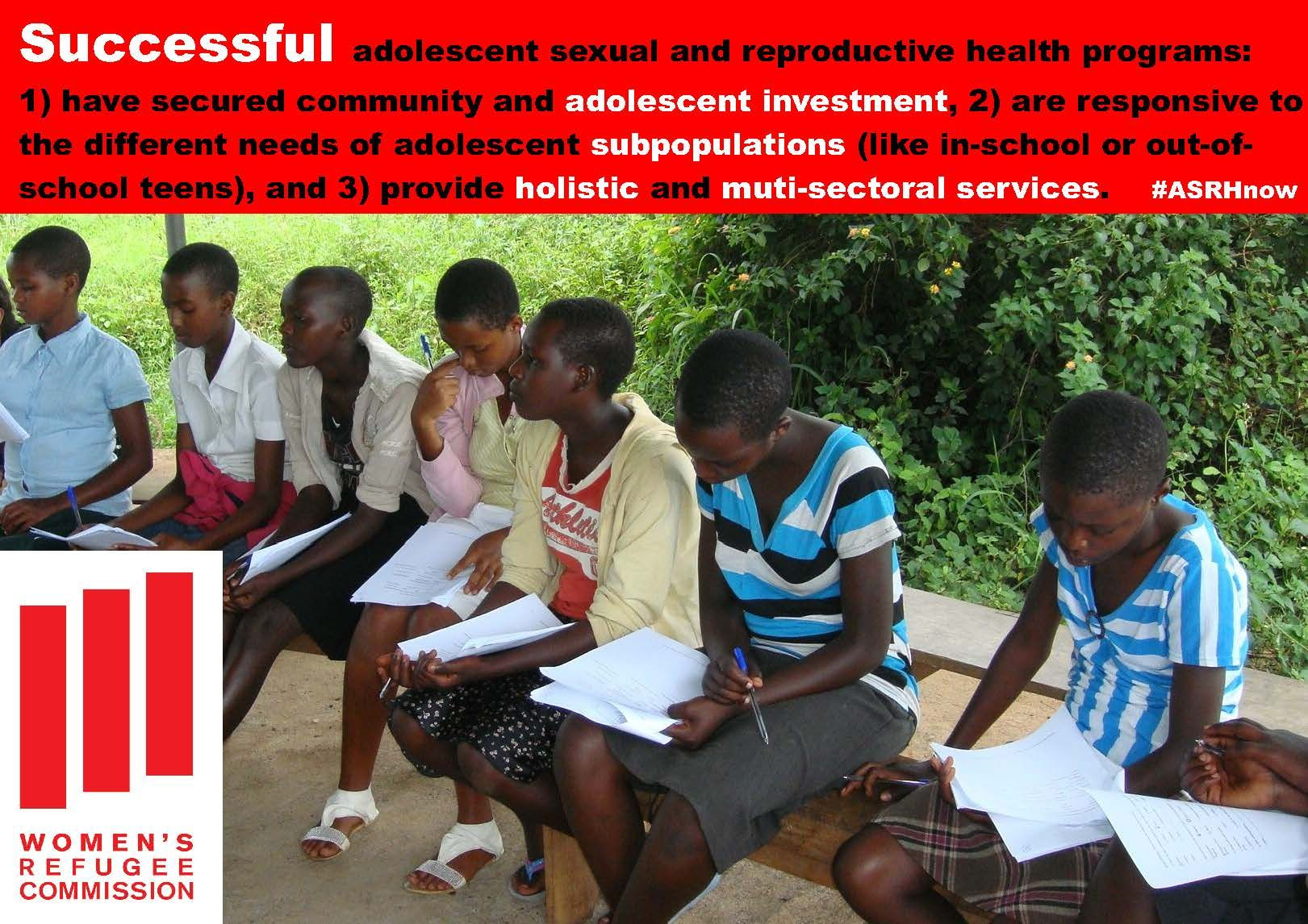 Pin on Adolescent Sexual and Reproductive Health