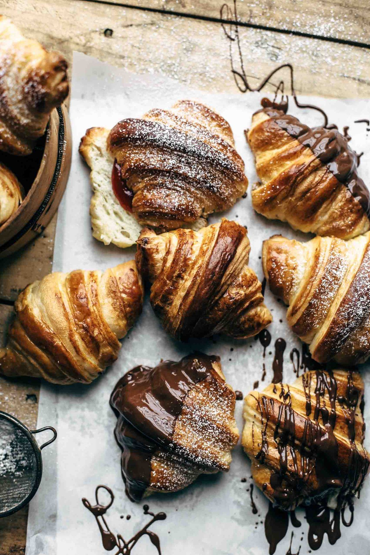 An entry from FOR EMMA, FOREVER AGO Homemade croissants