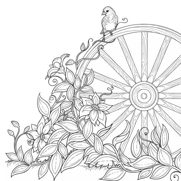 Download & print sample coloring pages of faith-based