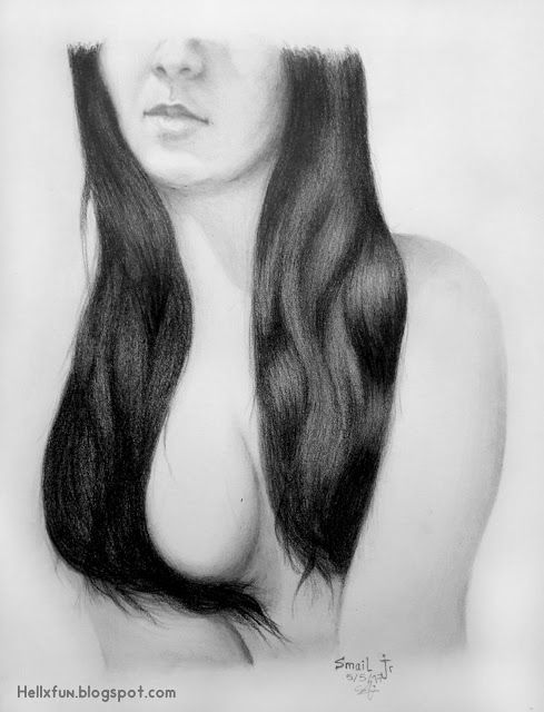 Naked hot girl draw remarkable, rather