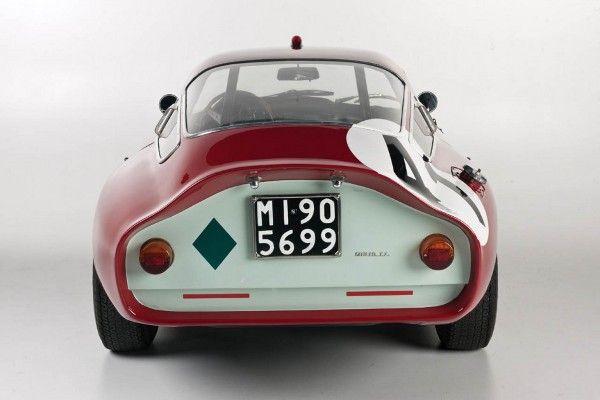 1964 Alfa Romeo TZ Coupe.