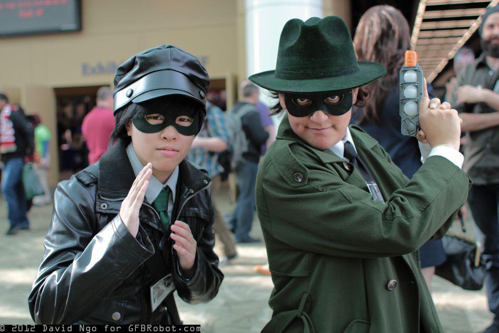 Kato and Green Hornet by VictoriaChen.deviantart.com on @DeviantArt