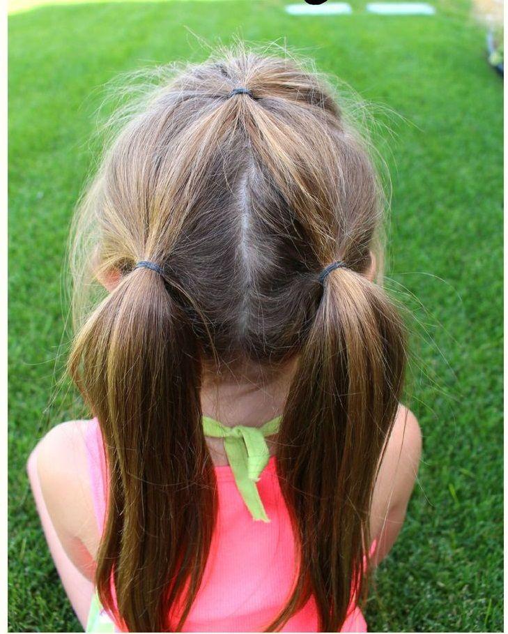Como peinar a ninas con pelo largo