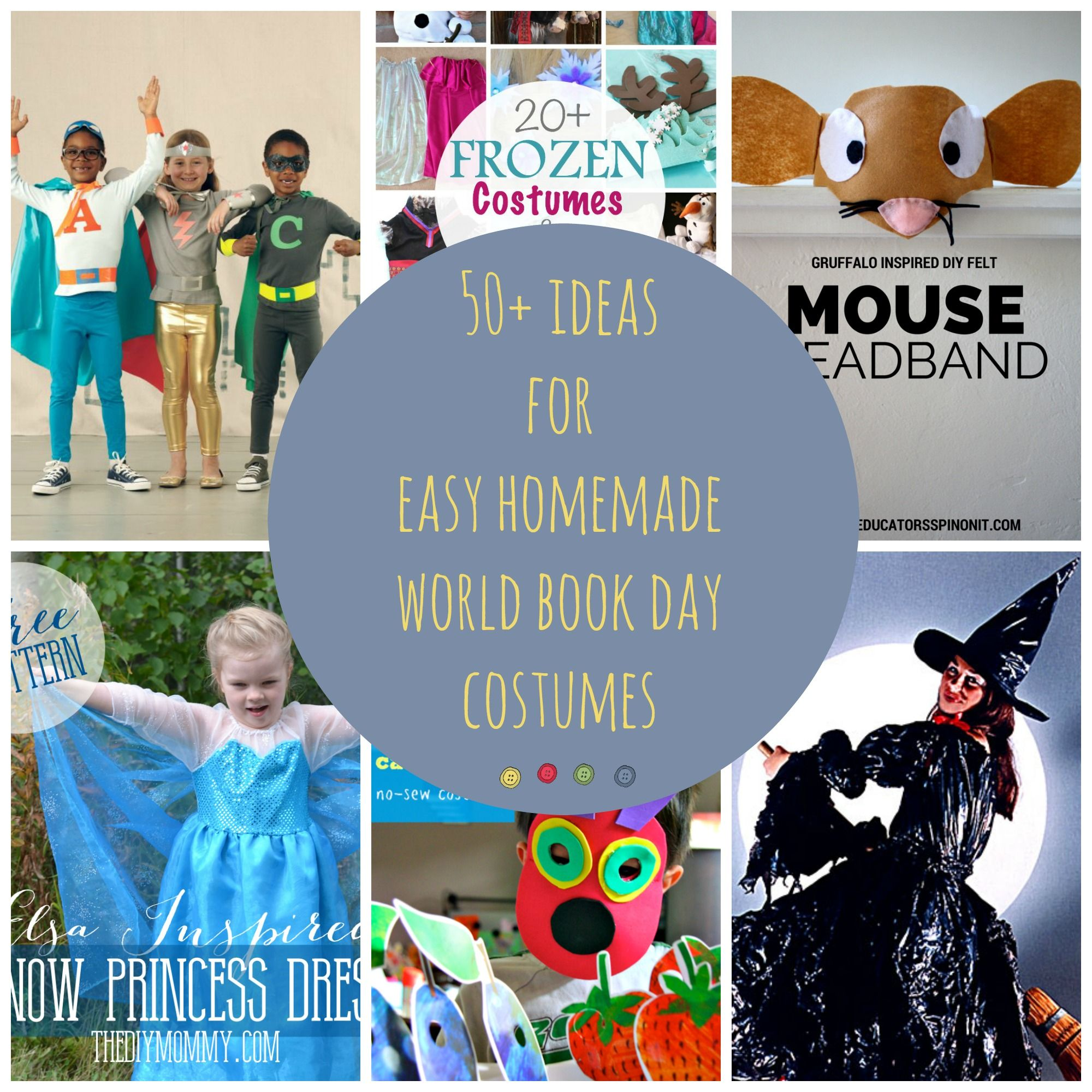 Ideas for easy homemade world book day costumes costumes 50 ideas for homemade world book day costumes my make do and mend year solutioingenieria Images