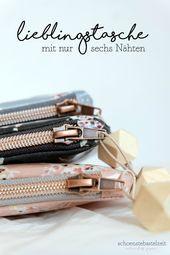 Photo of Ein metallischer Reißverschluss, ein Wachstuch und sechs Nähte – mehr brauchen …