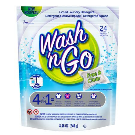Household Essentials Wash N Go Laundry Detergent