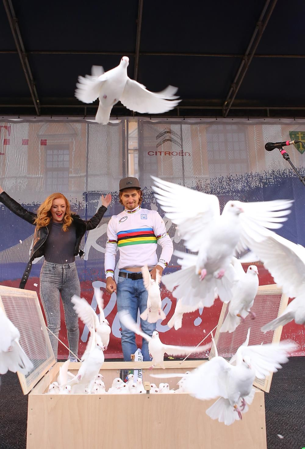 PETER SAGAN / WORLD CHAMP IN HIS HOMETOWN ZILINA