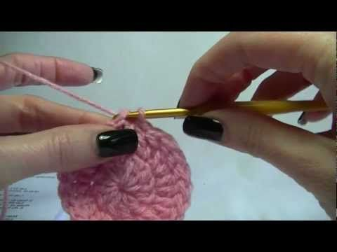 8f38af42c83 Crochet Basic Crown of a Beanie   hat Tutorial - YouTube