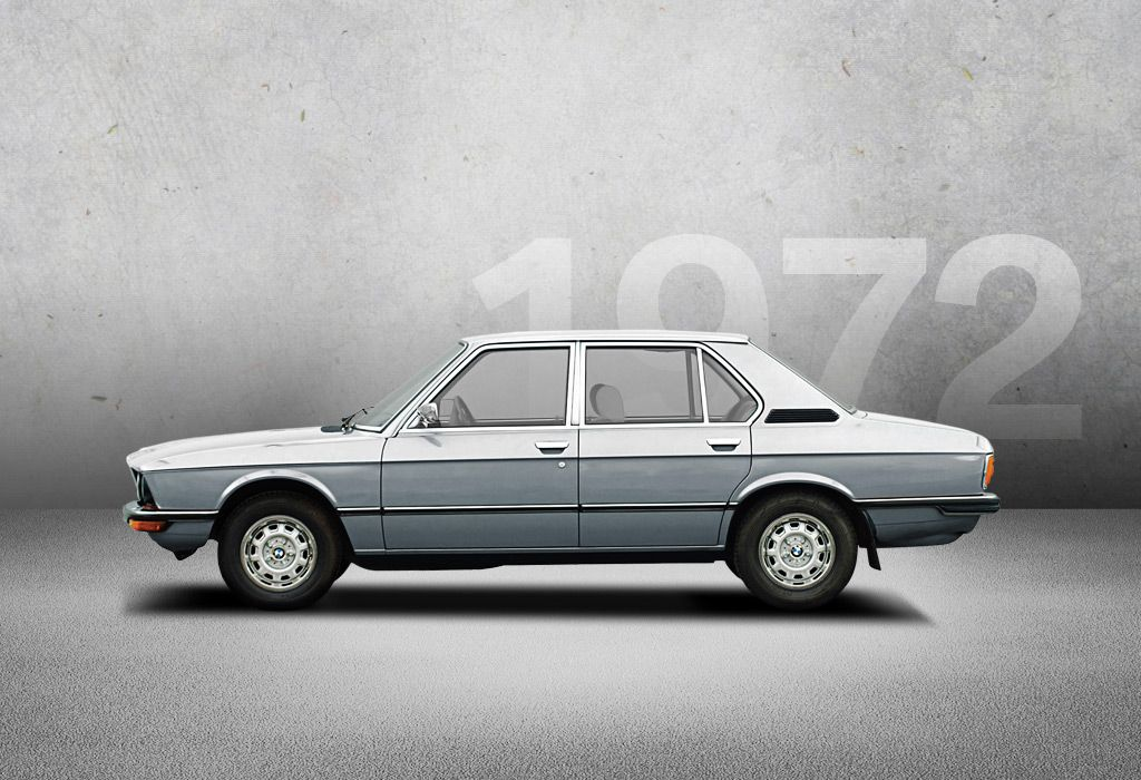 1972 Bmw 5 Series In 1972 The First Bmw 5 Series Makes Its