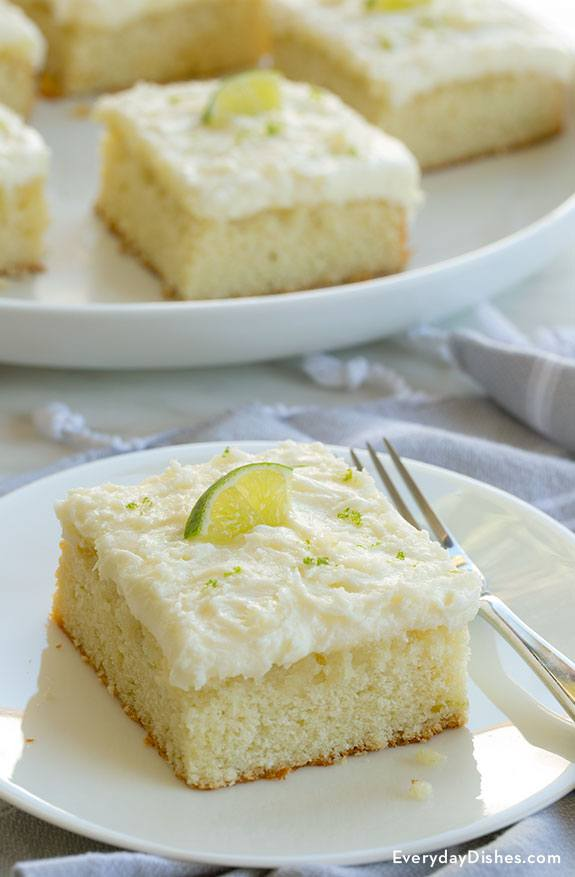 Tequila lime margarita cake - Everyday Dishes