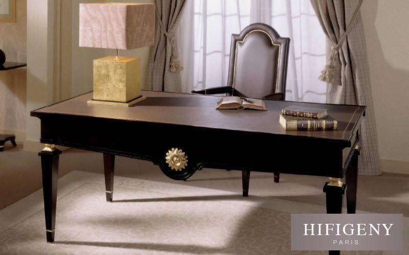 bureau #classique en #bois par Hifigeny | Bureau | Buffet meuble ...