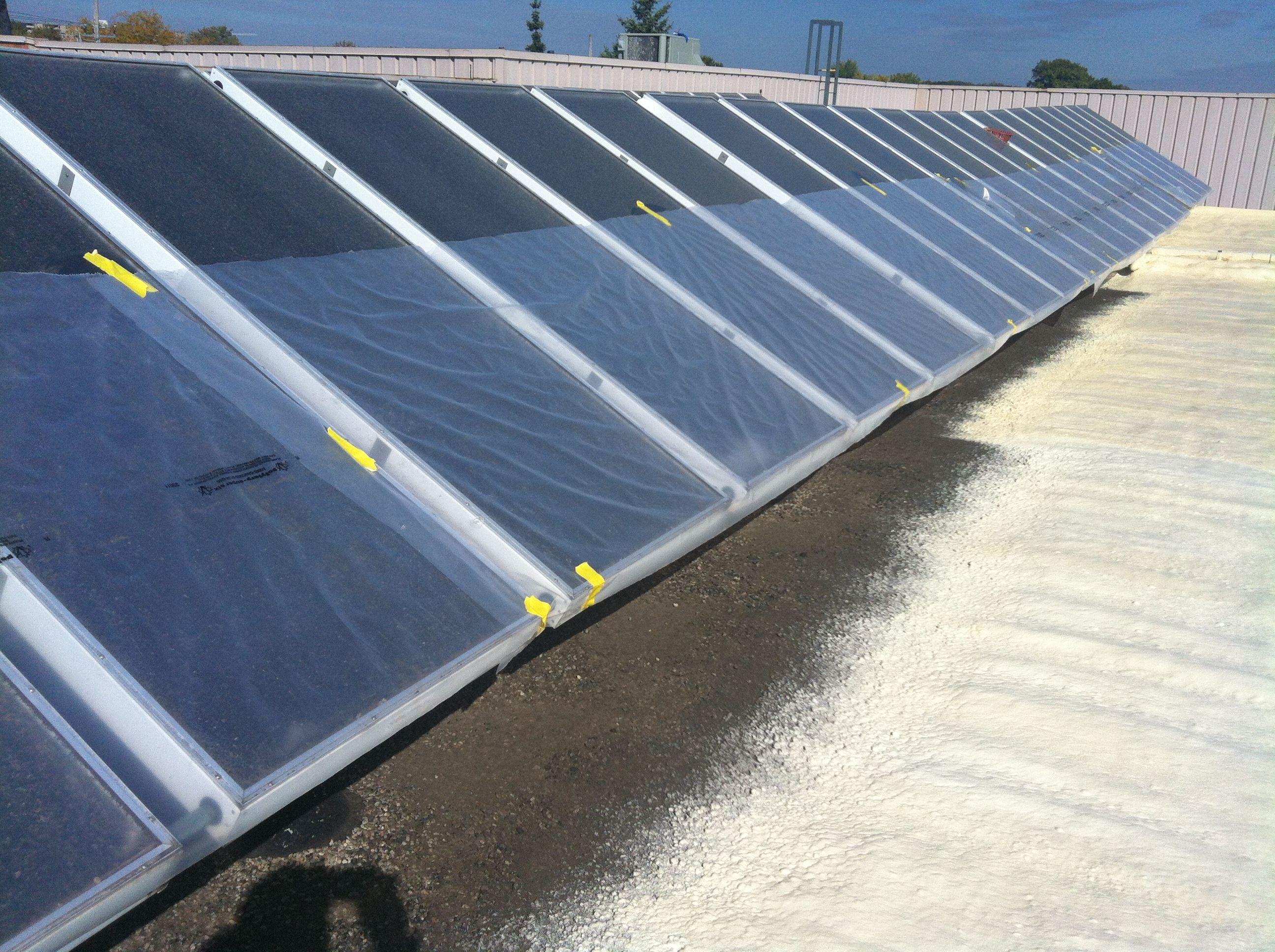 3lb Polyurethane Roofing Foam With Elastomeric Protective