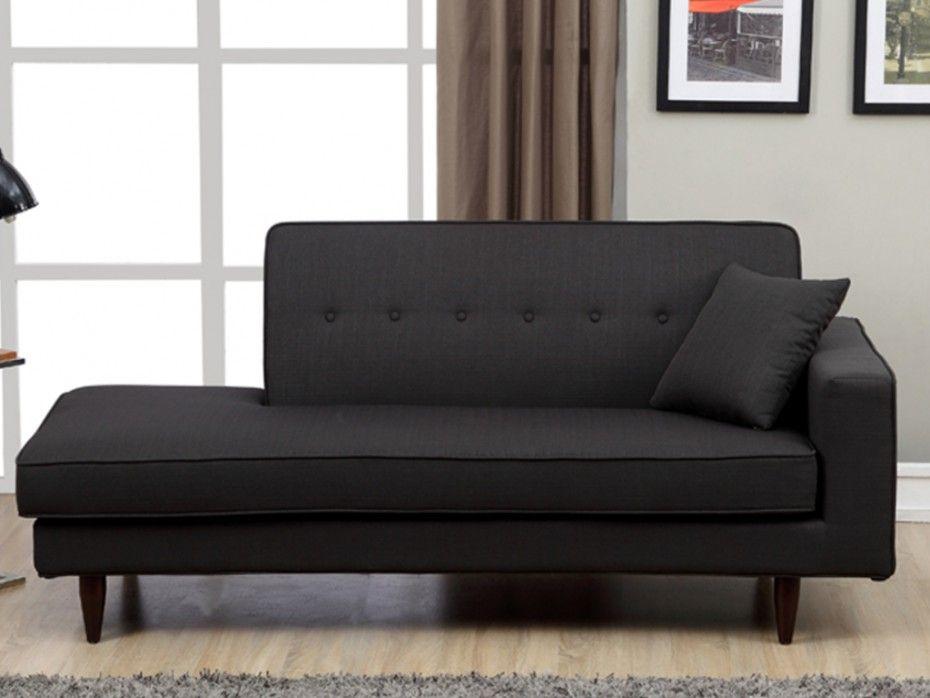 recamiere stoff manon anthrazit ecke links wohnideen. Black Bedroom Furniture Sets. Home Design Ideas