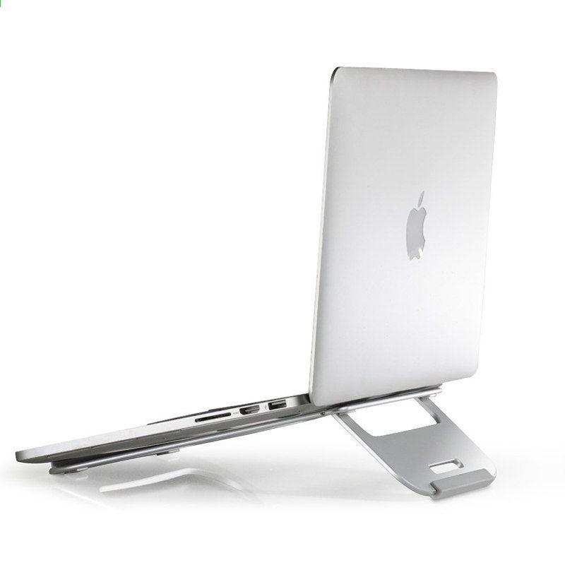 Draagbare Aluminium Laptop Standhouder Dock Bureau Pad Voor