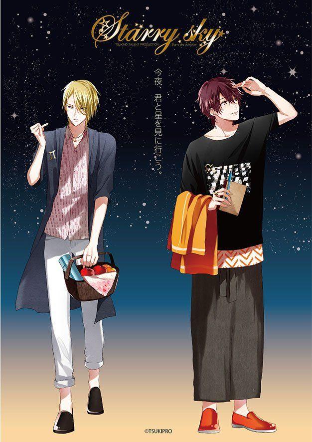 ALIVE公式 on | Tsukino Paradise | Sky anime, Anime, dan Tsukiuta the animation