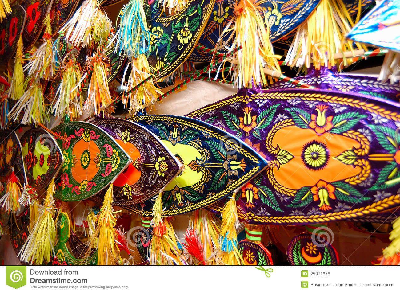 Malaysian Kite (Wau) Royalty Free Stock Photos Image