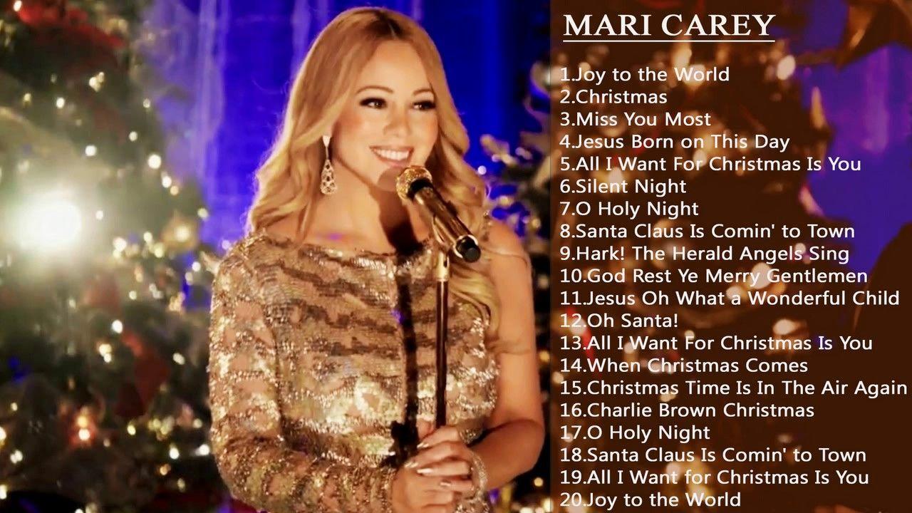 Mariah Carey Merry Christmas songs Full Album Mariah