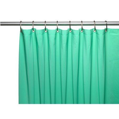 Hotel Collection 8 Gauge Vinyl Shower Curtain Liner W Weighted