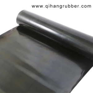 Good General Purpose 5mm Thickness Black Industrial Rubber Sheet Roll