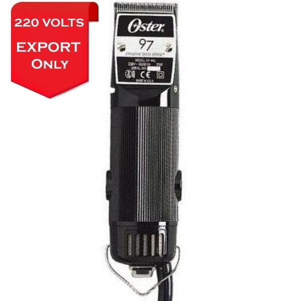 Oster 076097 440 Classic 97 Professional Hair Clipper 220 240 Volts 50hz Export Only Hair Clippers Professional Hairstyles Oster