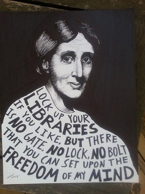 Virginia Woolf (Original Drawing)