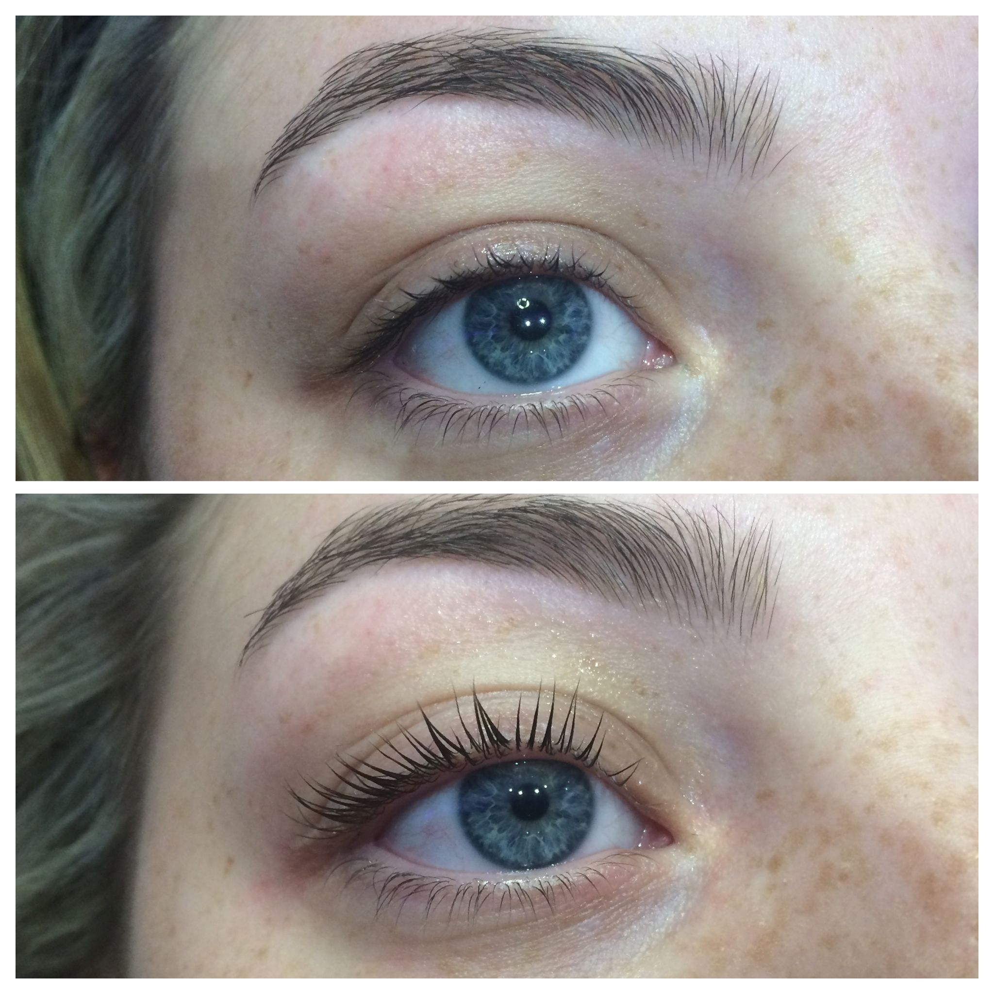 What a transformation! LVL lash lift was one of our most