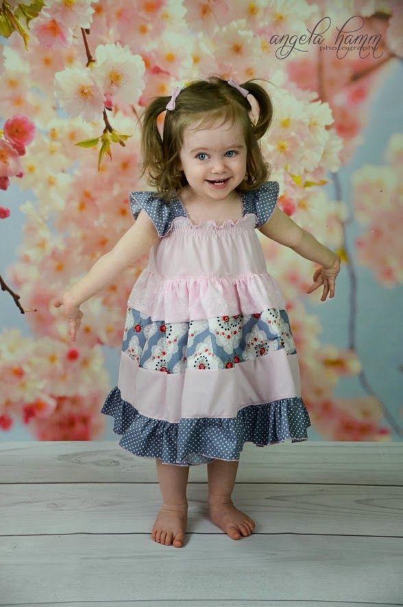 Free Patterns: Kambria\'s Dress and Kaya\'s Cloche   Mädchen Kleider ...
