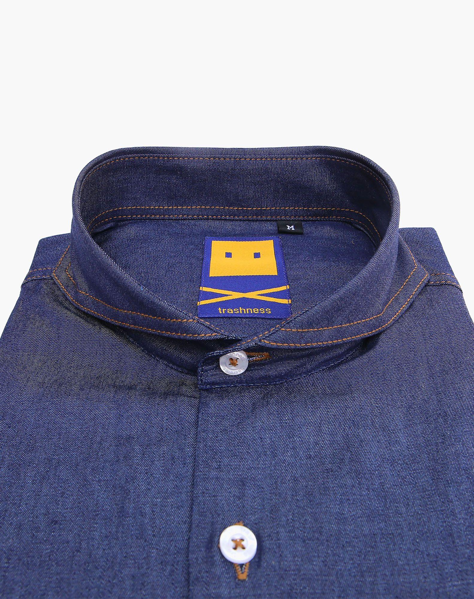 0cbbe05861 Extreme cutaway™ denim shirt | Men shirts | Denim shirt, Denim ...