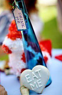 Alice In Wonderland Wedding Favors | Events By Heather Ham ...