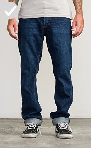 RVCA Men's Stay Jean, Vivid Blue, 31 - Mens world (*Amazon Partner-Link)