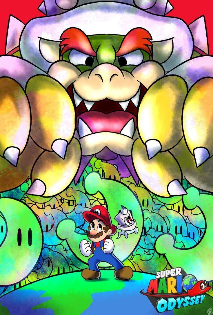 FanArt) Super Mario Odyssey Poster by DNPinotti123.deviantart.com on ...