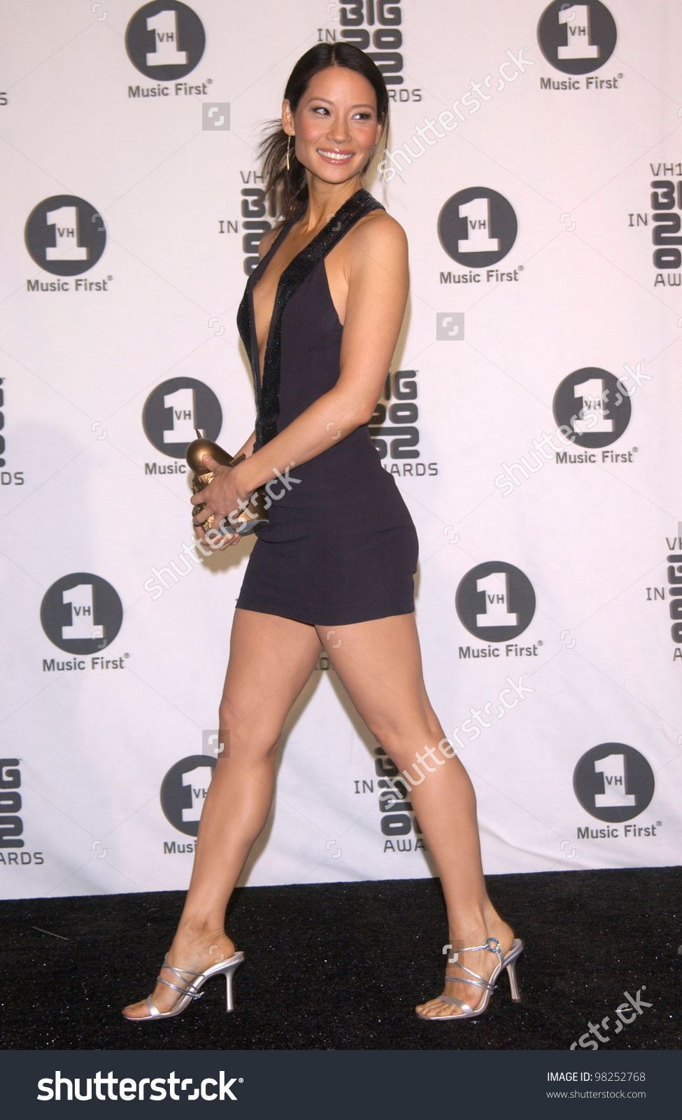 LUCY LIU at the Big in 2002 Awards in Los Angeles. Paul Smith / Featureflash - Stock Photo from the largest library of royalty-free images, ...