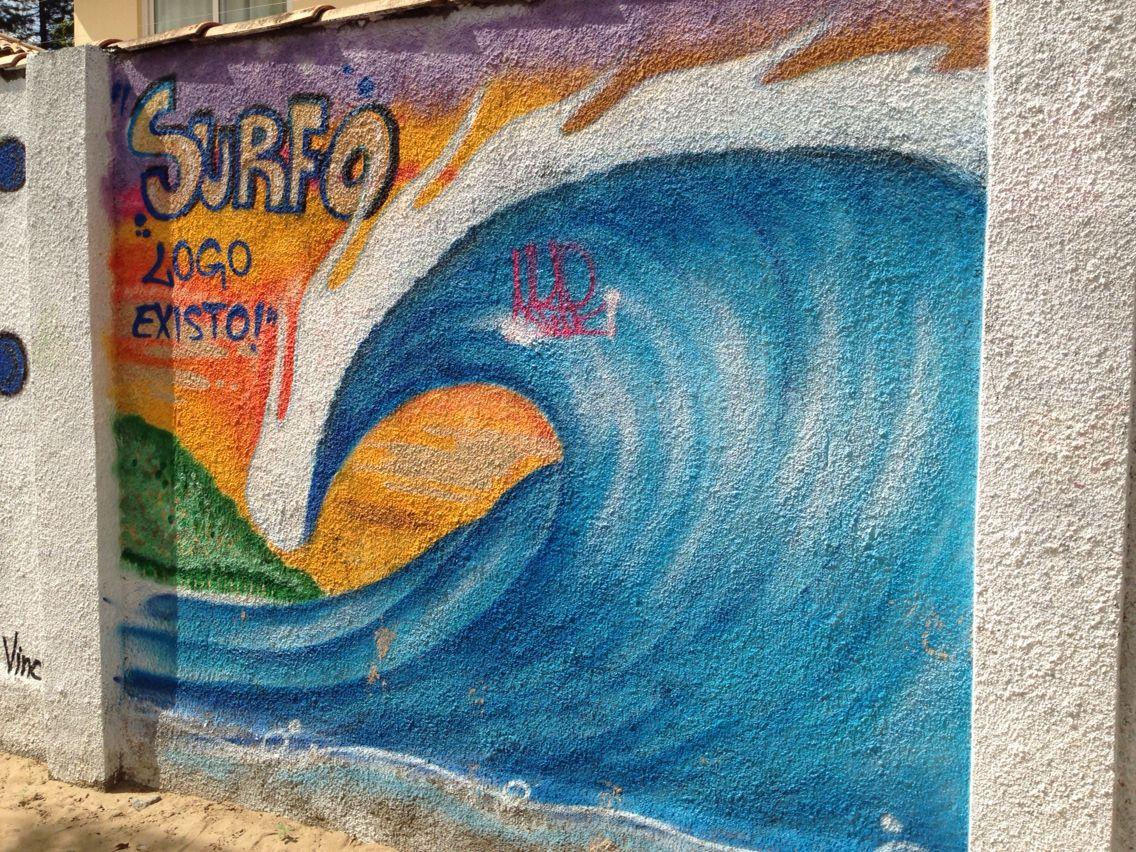 Surfo Logo Existo gráfico em Búzios