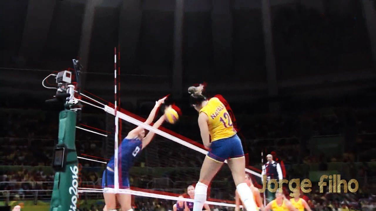 Top 10 Best Single Blocks In Women S Volleyball By Jorge Filho Women Volleyball Volleyball Volleyball Positions