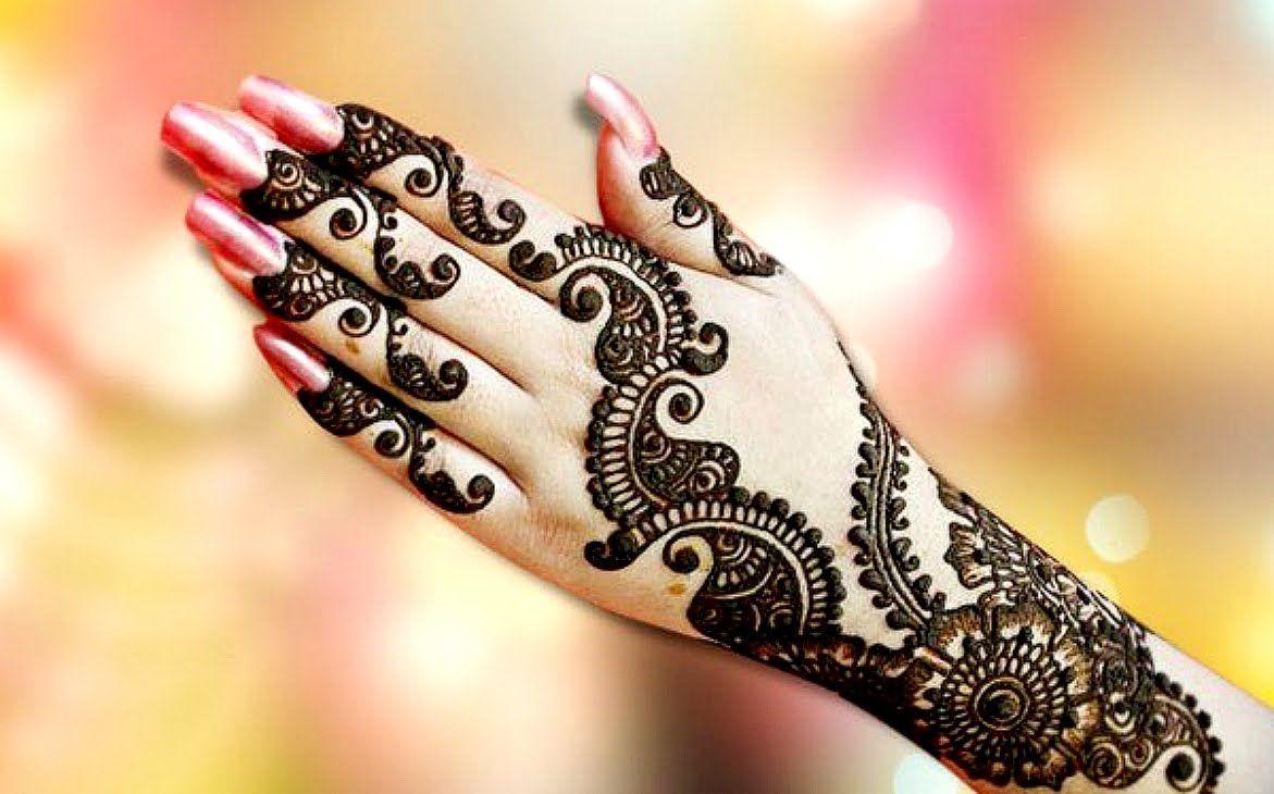 Fancy Henna Design Ideas For Women Ring Mehndi Design