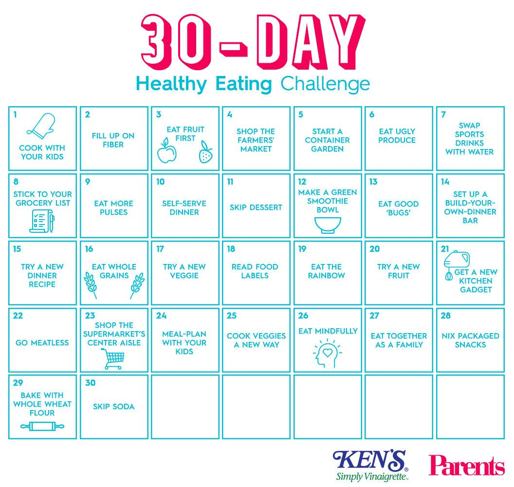 30 day healthy eating plan