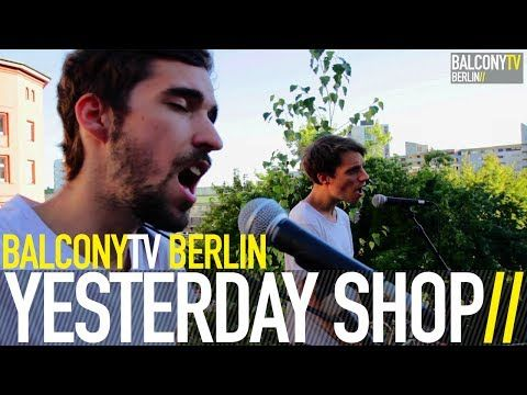 YESTERDAY SHOP bei BalconyTVBerlin  https://www.balconytv.com/berlin https://www.facebook.com/BalconyTVBerlin