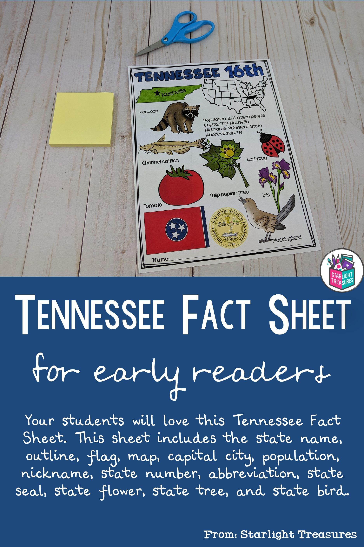 Tennessee Fact Sheet