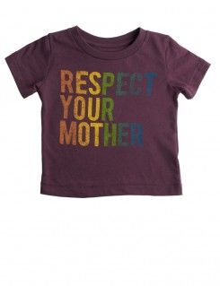 Respect your mother PEEK shirt--awesome woolie match! #matchthewoolies #makeclothmainsteam #clothdiapers #clothdiapering #babystyle #toddlerstyle #babyfashion #toddlerfashion