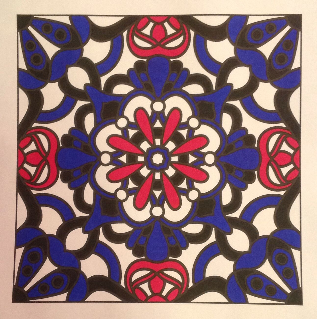 Colouring page from Angie Grace book Flowers for Wide Tipped Markers ...