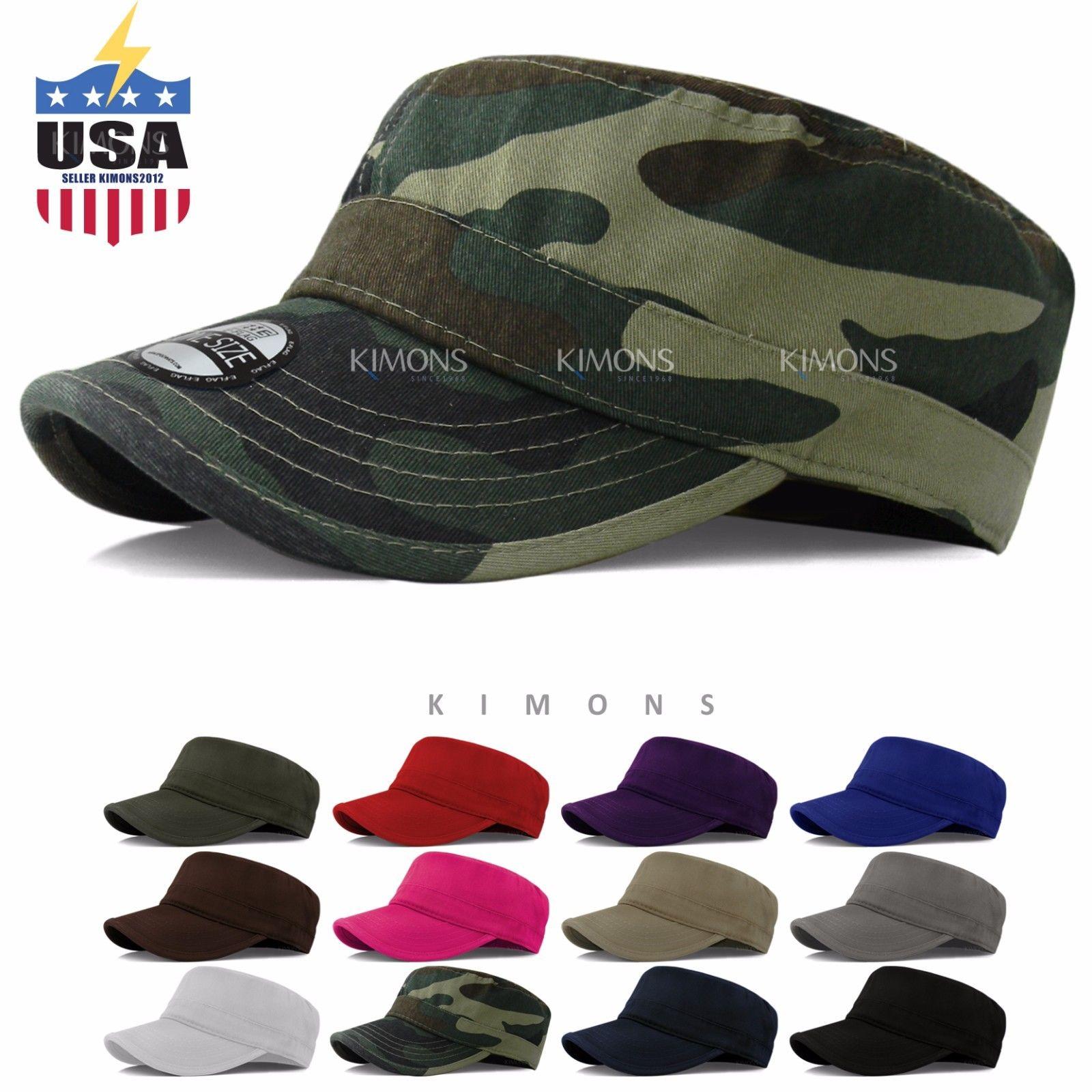 bb77ecea4b1eb Army Cadet Military Patrol Castro Cap Hat Men Women Golf Driving Summer  Baseball