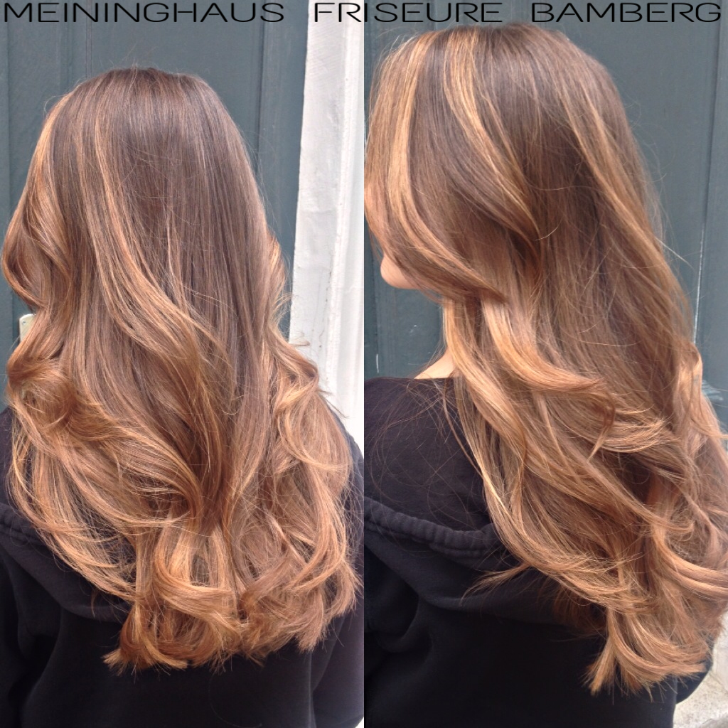 Balayage By Anna At Meininghaus Friseure Bamberg Hair Ideas In
