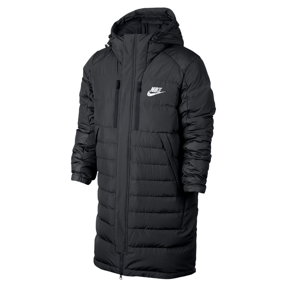 f12687f751 Nike Sportswear Parka Men s Down Jacket Size Medium (Black ...