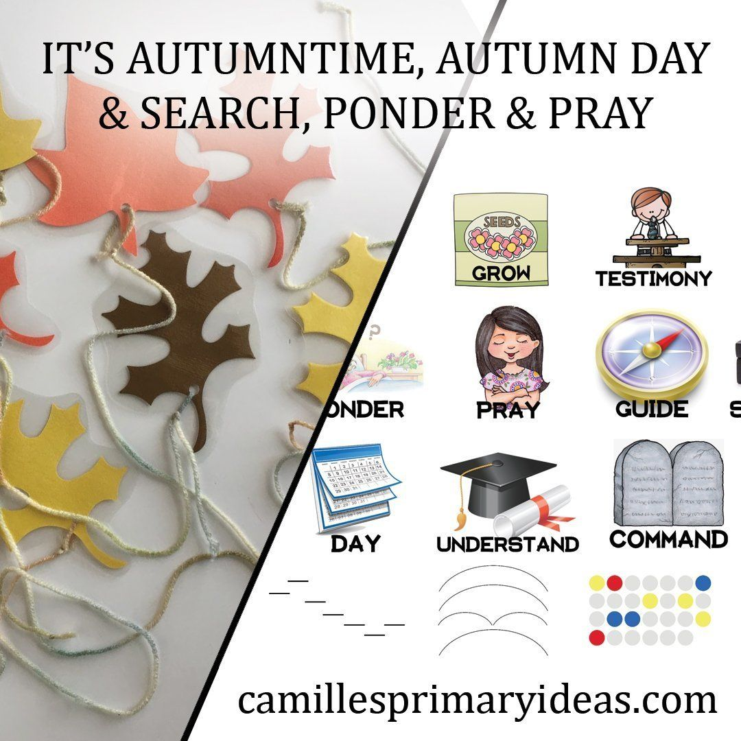 It's Autumntime & Autumn Day - Singing Time Ideas   LDS   Camille's Primary Ideas #howtosing