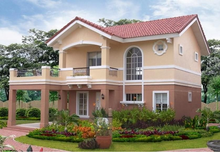 A luxurious 2 storey structure with 4 well appointed - Camella homes bungalow house design ...