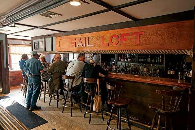 Bar at the Black Seal Essex CT