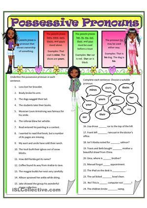 pronouns | Possessive Pronouns 2 worksheet - Free ESL ...