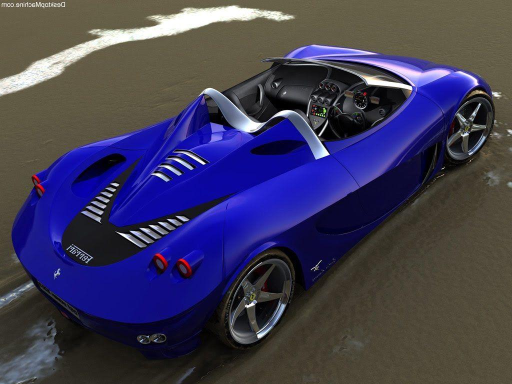 2014 Ferrari   This Is The Perfect Car.a Ocean Blue Convertible Ferrari!